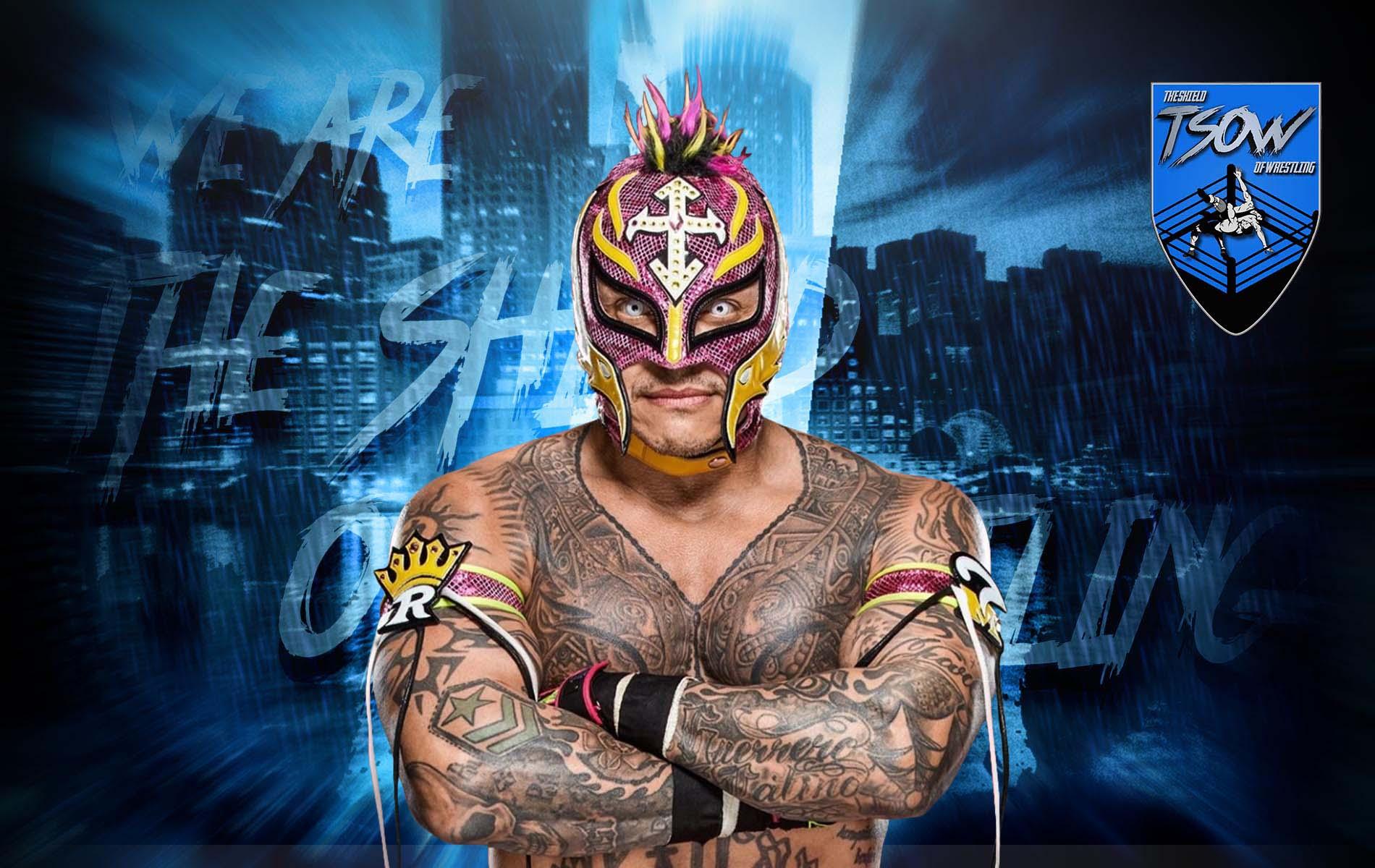 Rey Mysterio vorrebbe diventare campione insieme al figlio