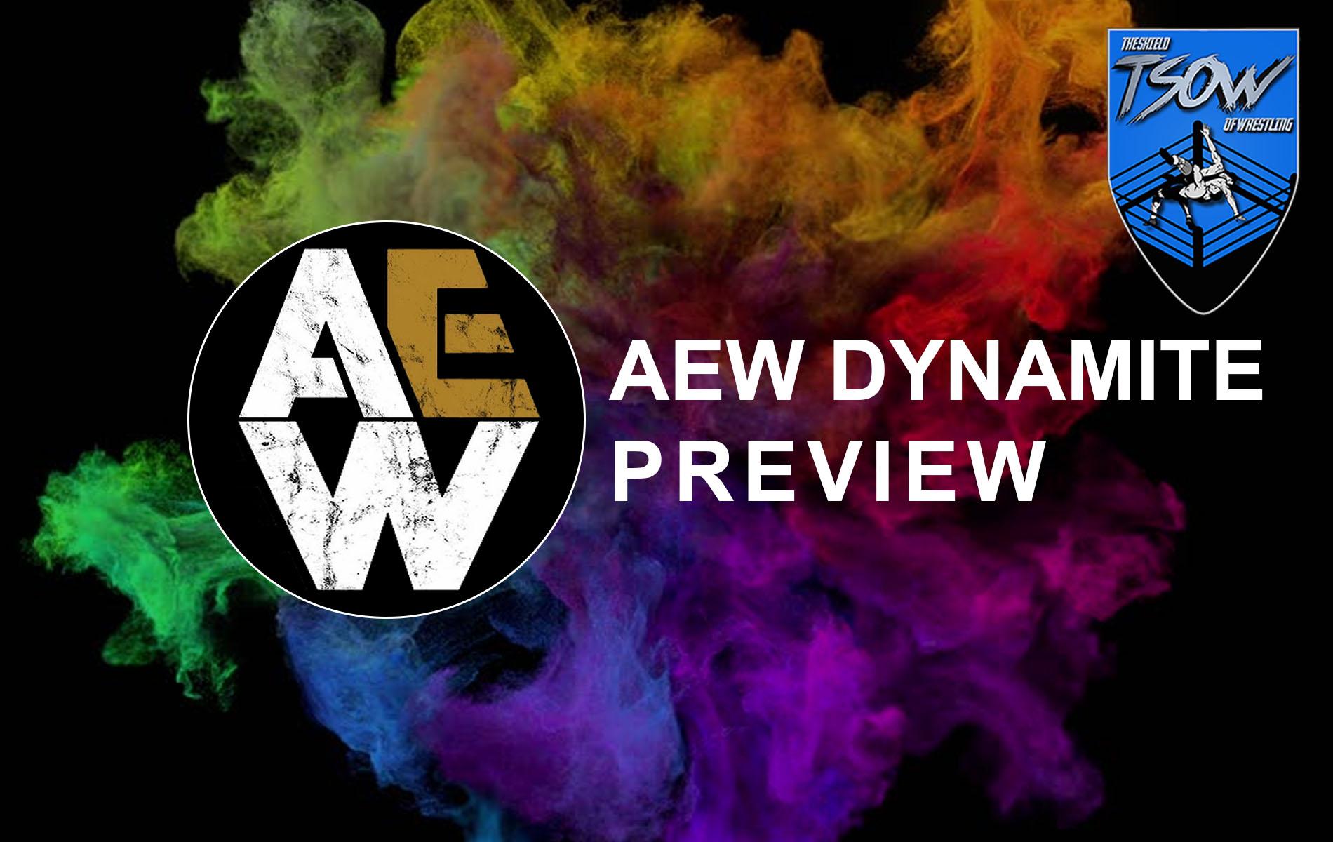 Anteprima AEW Dynamite 7-10-2020