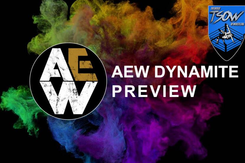 Anteprima AEW Dynamite 25-11-2020