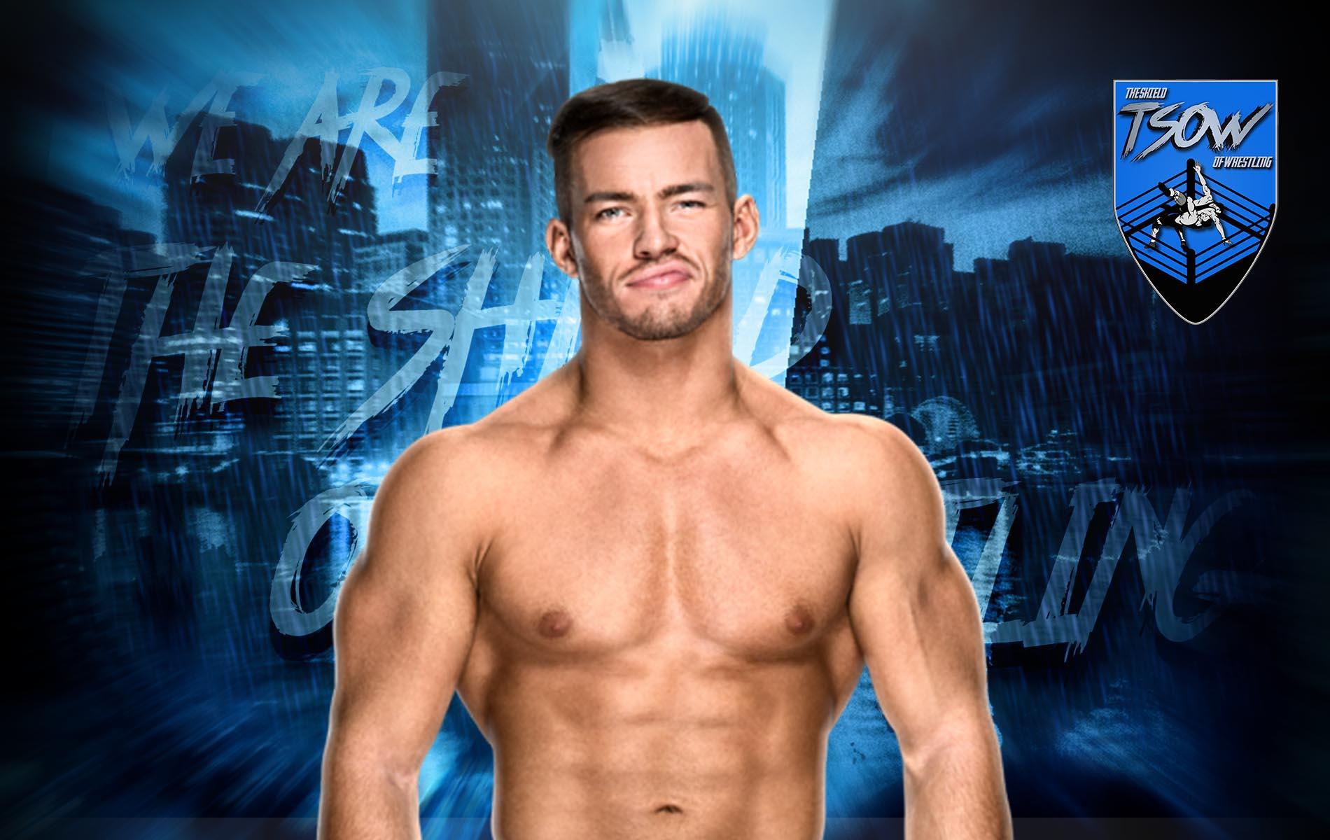 Austin Theory ha abbandonato NXT