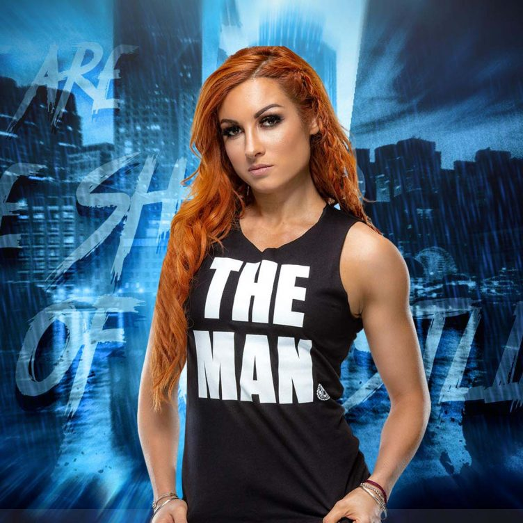 Becky Lynch era nel backstage di Hell in a Cell