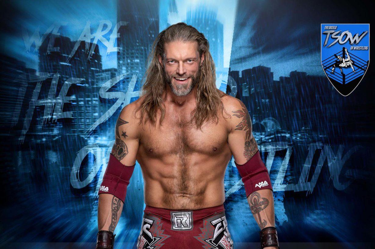 Edge farà un grande annuncio a RAW questa sera
