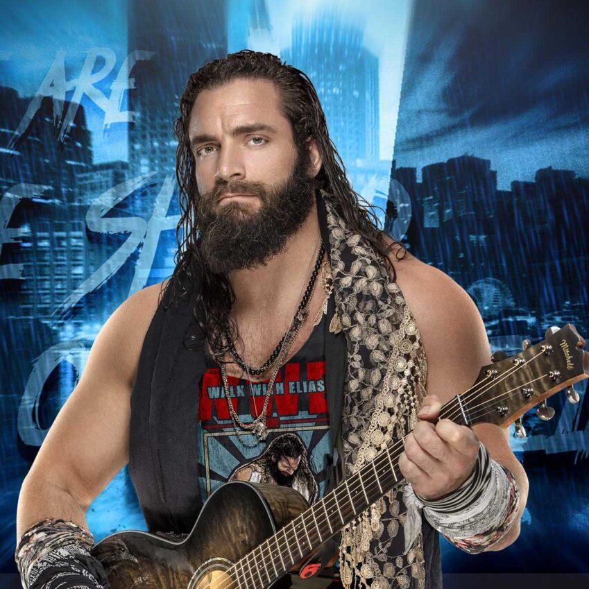 Elias: concerto durante RAW Season Premiere per presentare il nuovo album