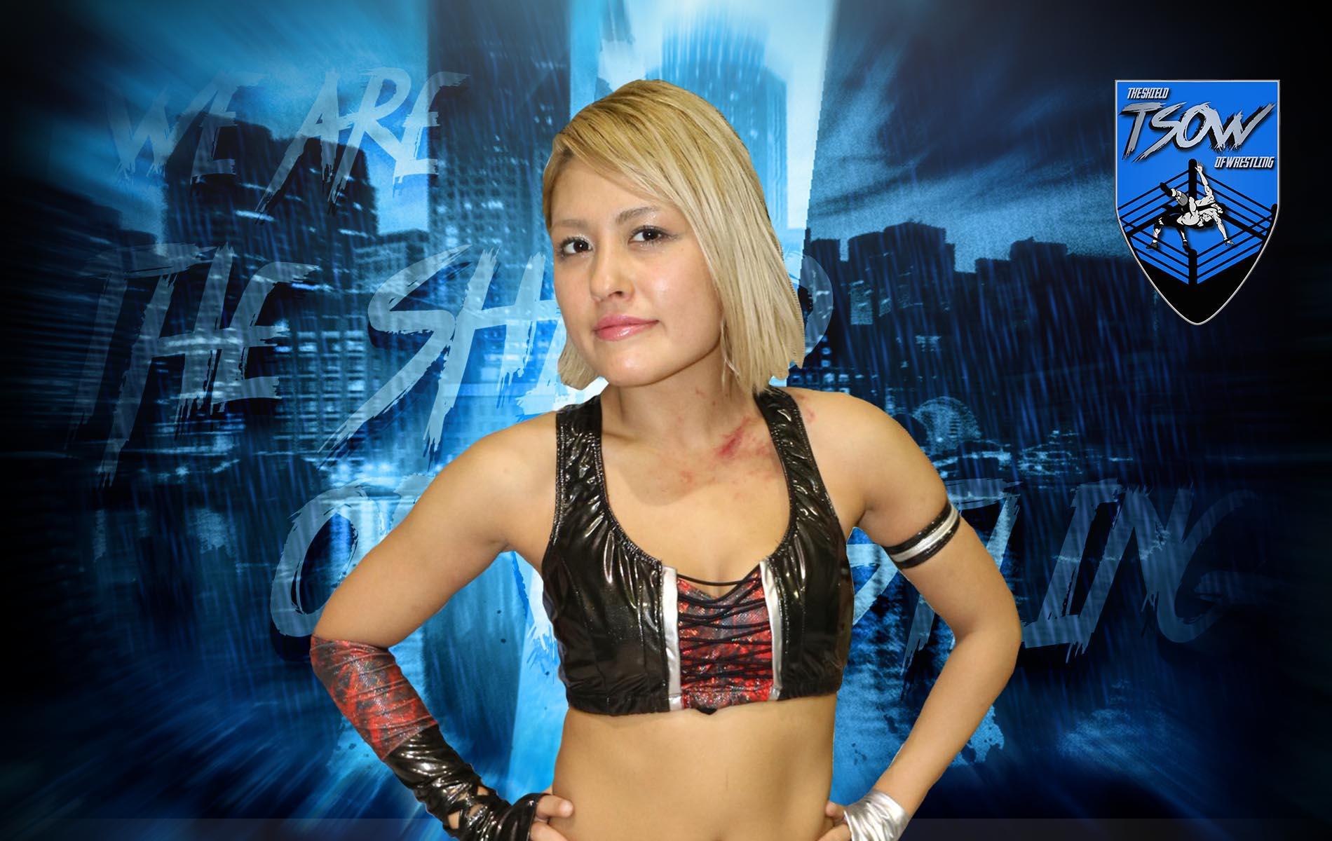 STARDOM: Giulia omaggia l'ex rivale Hana Kimura
