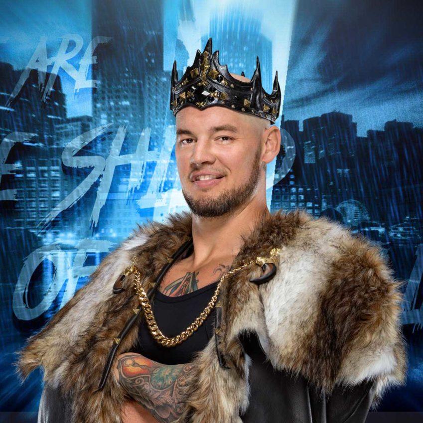 King Corbin si lamenta: non vuole una rivalità con Matt Riddle