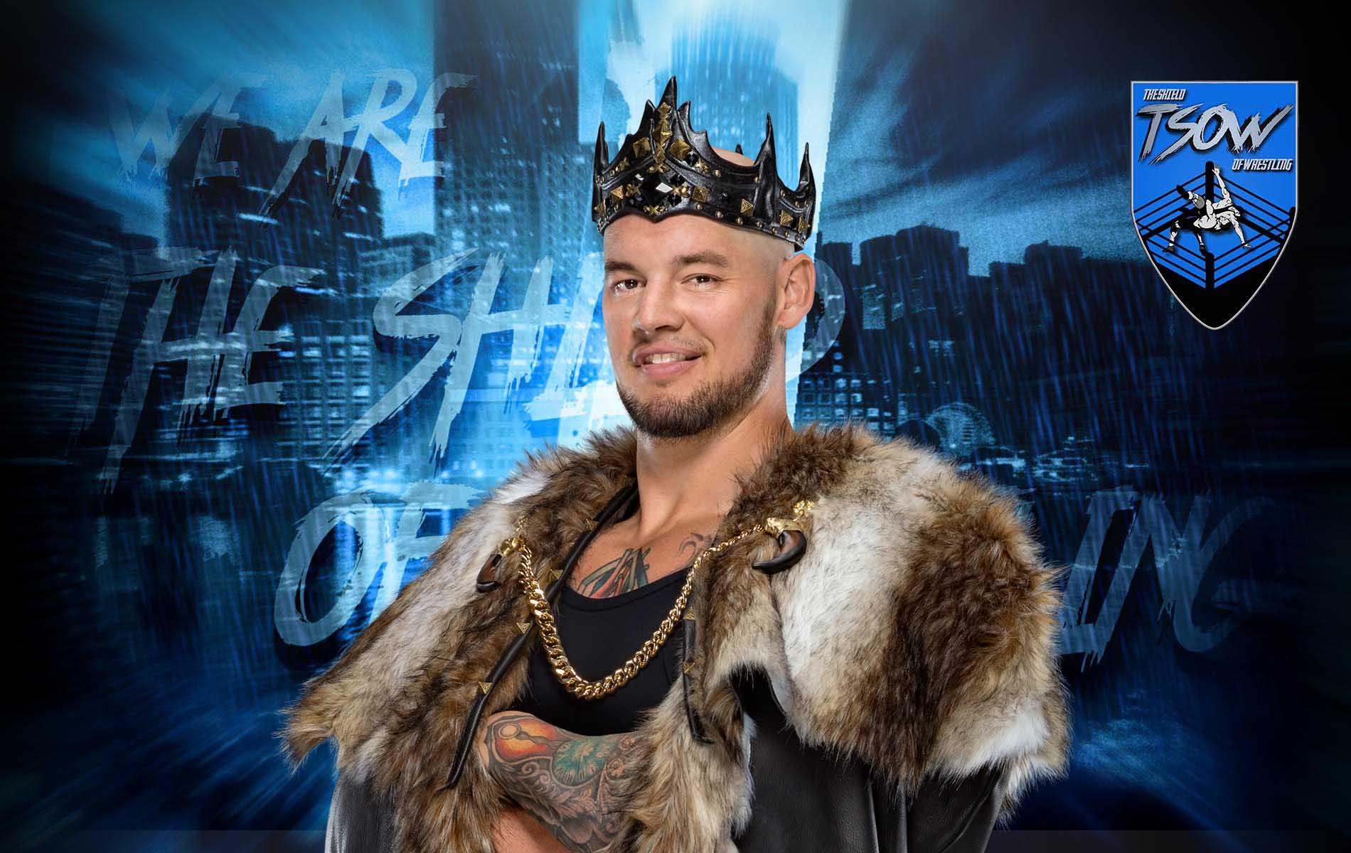 King Corbin risponde ai fan che lo volevano licenziato