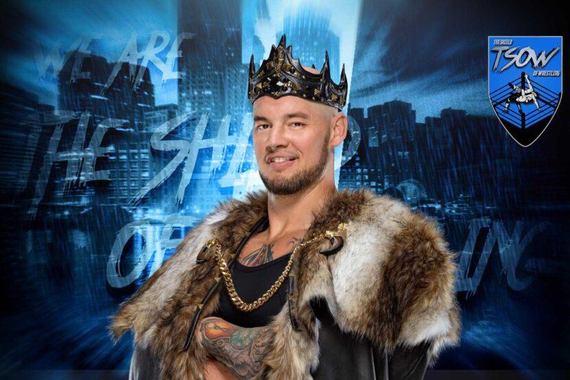 King Corbin mostra su Twitter il suo nuovo Rolex