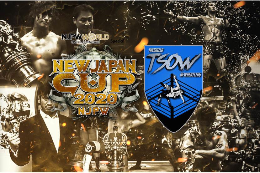 Pagellone di NJPW NEW JAPAN CUP 2020
