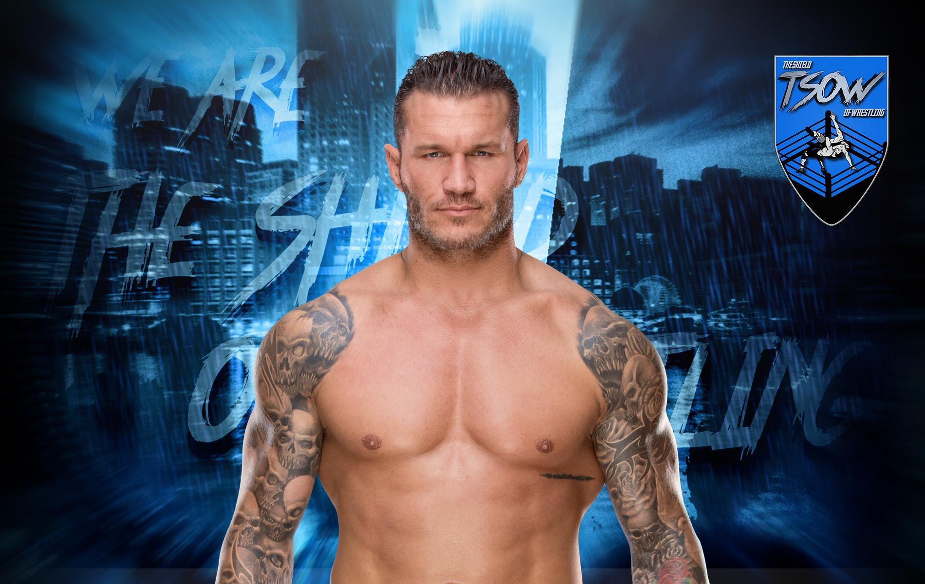Randy Orton ricorda il Triple Threat Match di WrestleMania 22