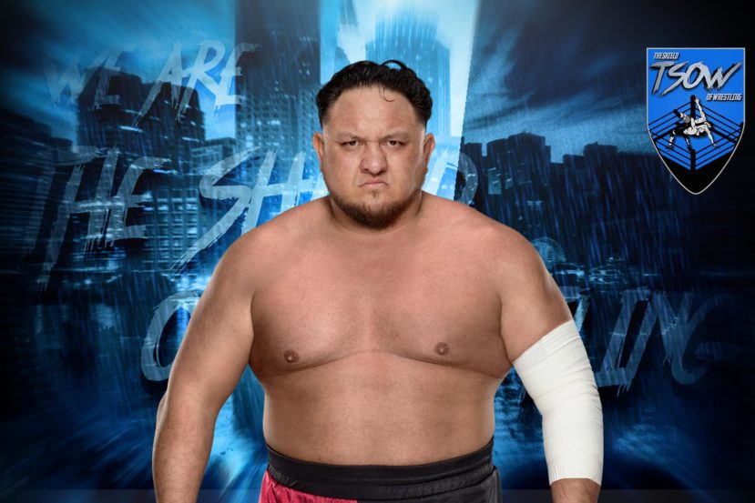 Samoa Joe tornerà presto a lottare?