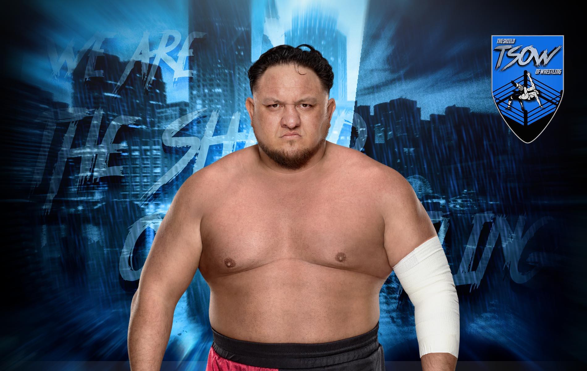 Samoa Joe: un anno fa lottava il suo ultimo match in WWE