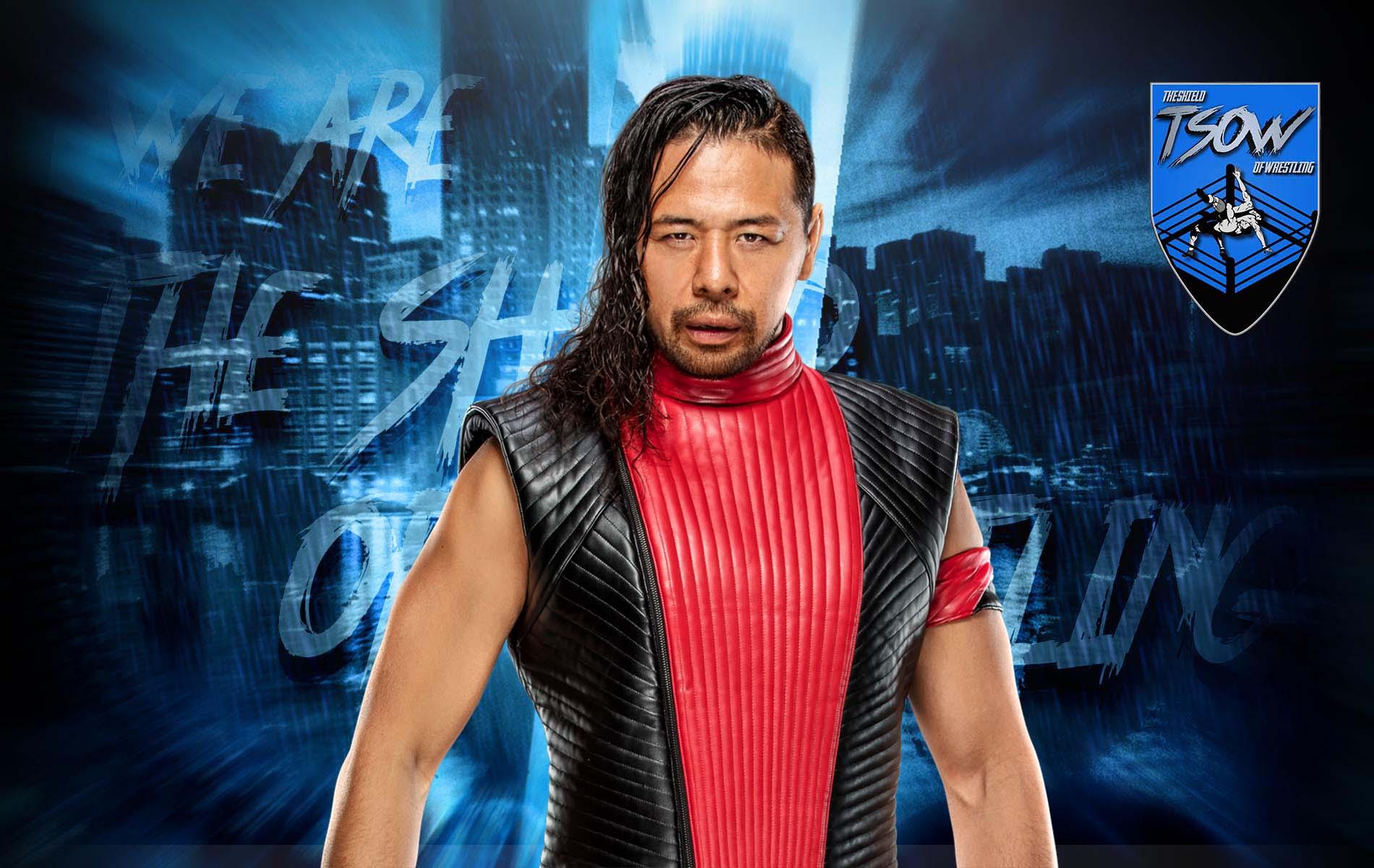 Shinsuke Nakamura: entrata particolare a SmackDown