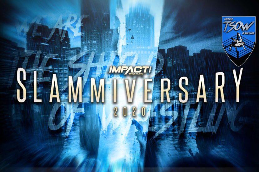 Slammiversary 2020: la card aggiornata