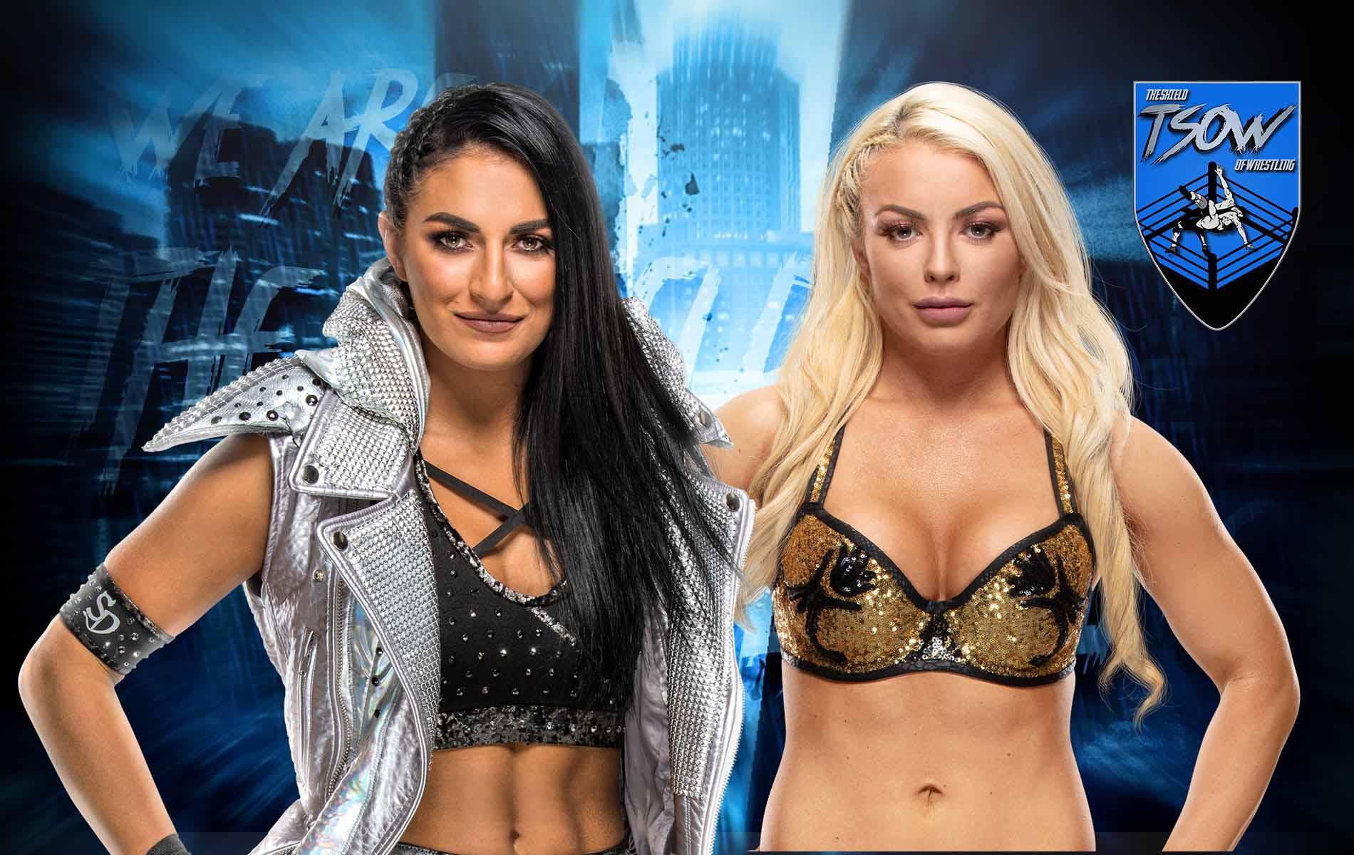 Sonya Deville ha attaccato Mandy Rose e le ha tagliato i capelli