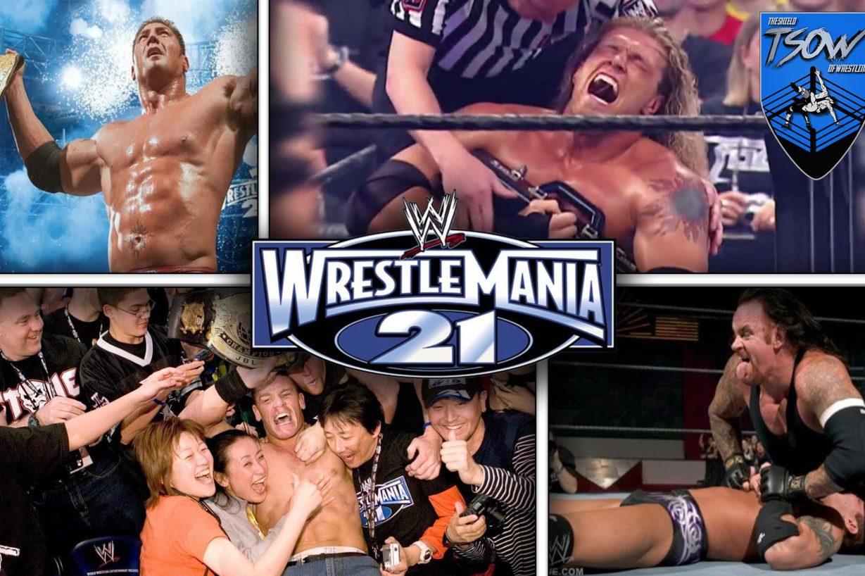 Wrestlemania 21: l'evento che cambiò tutto