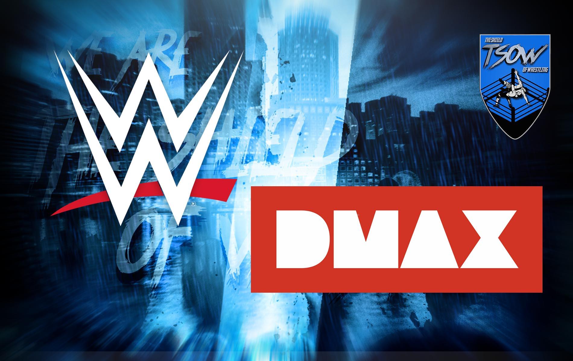 WWE su DMAX: svelata la programmazione