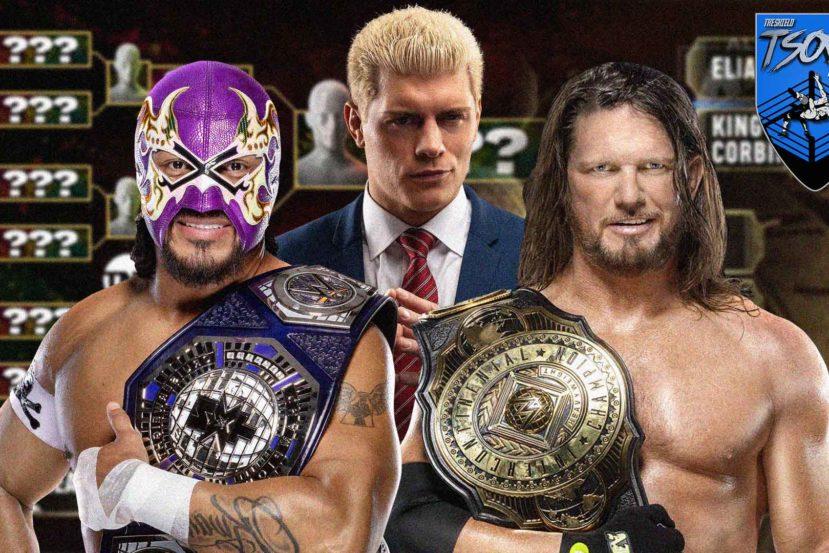 Il torneo nel mondo del wrestling