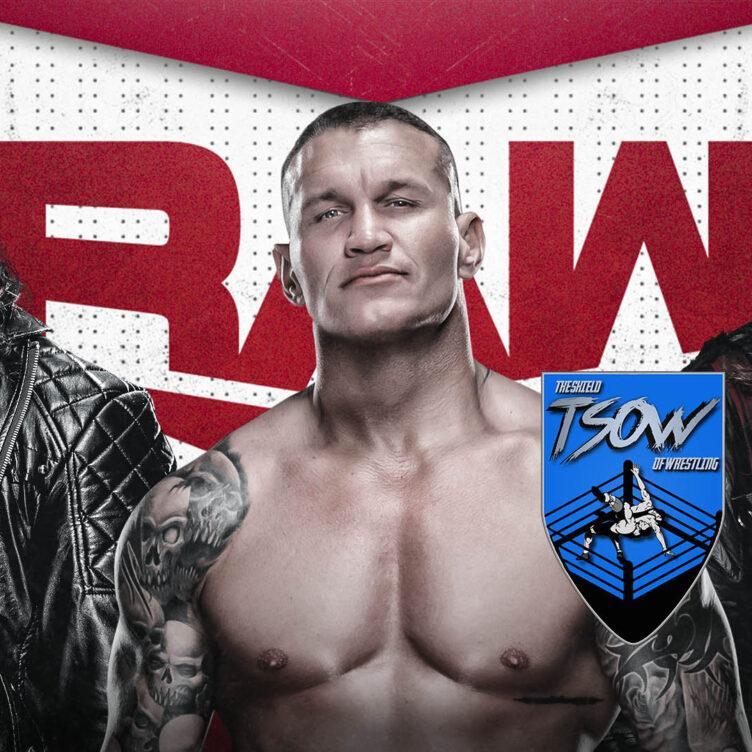 RAW Season Premiere - Risultati Live