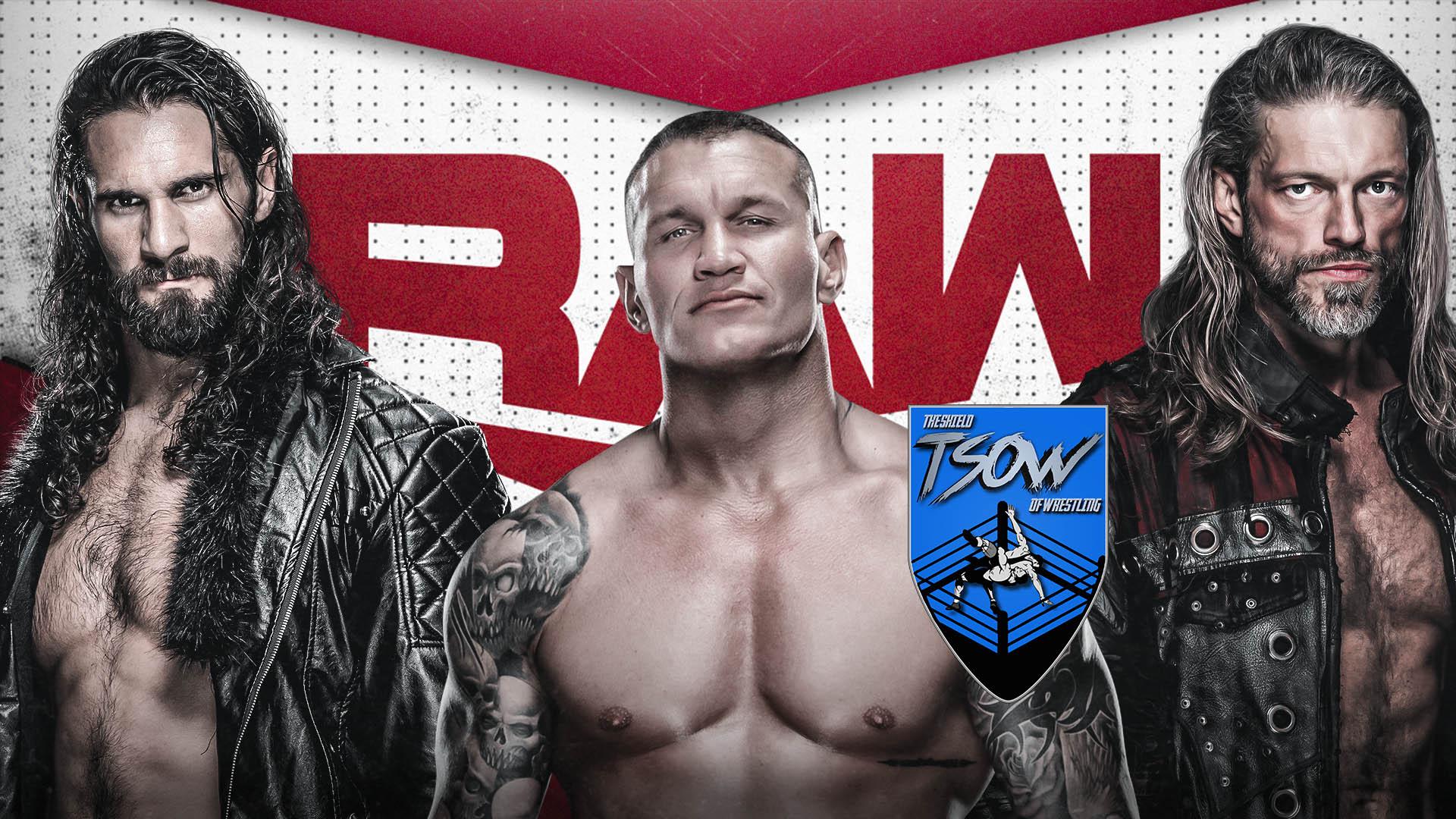 Report RAW 05-10-2020 - WWE