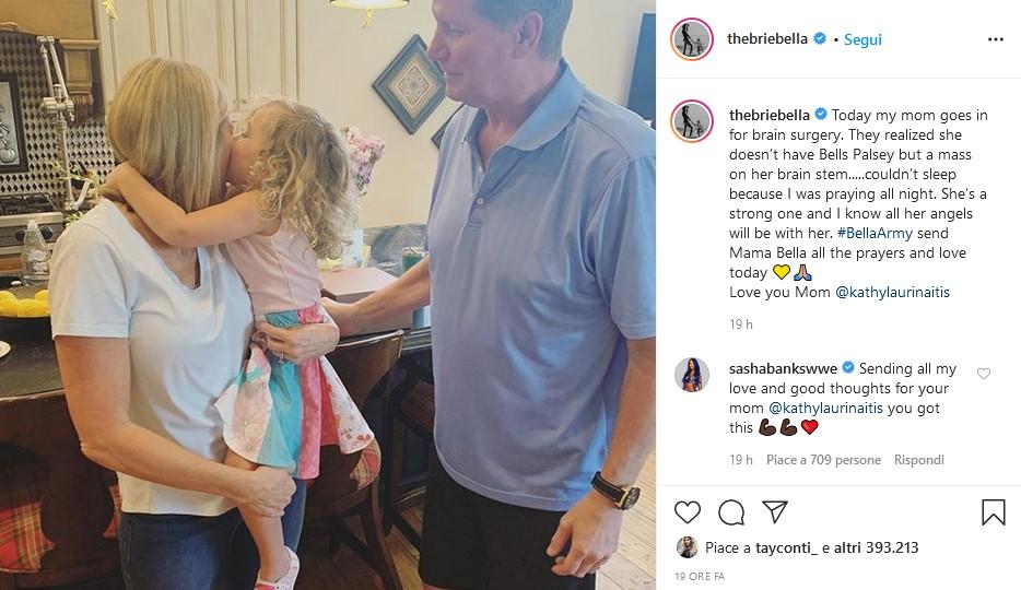 La madre delle Bella Twins si è sottoposta ad un intervento