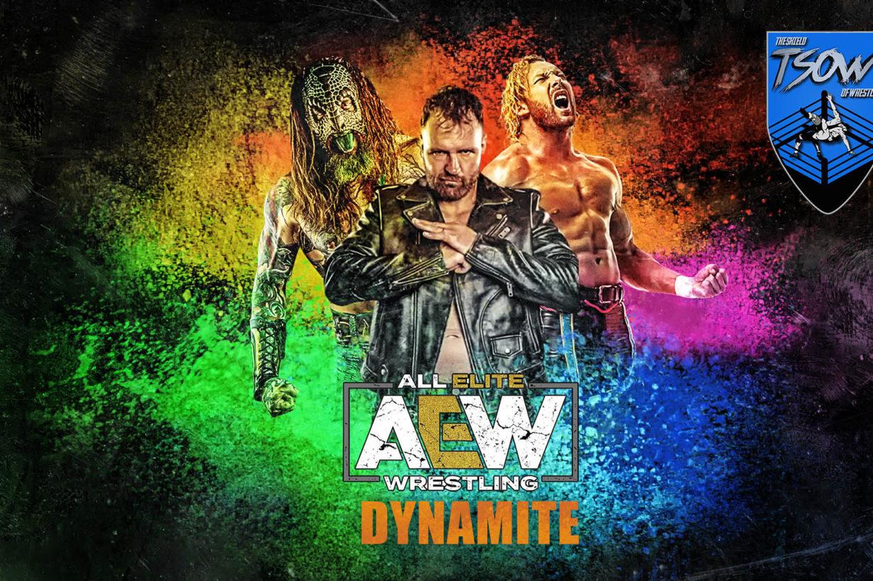 Report Dynamite 09-09-2020 - AEW