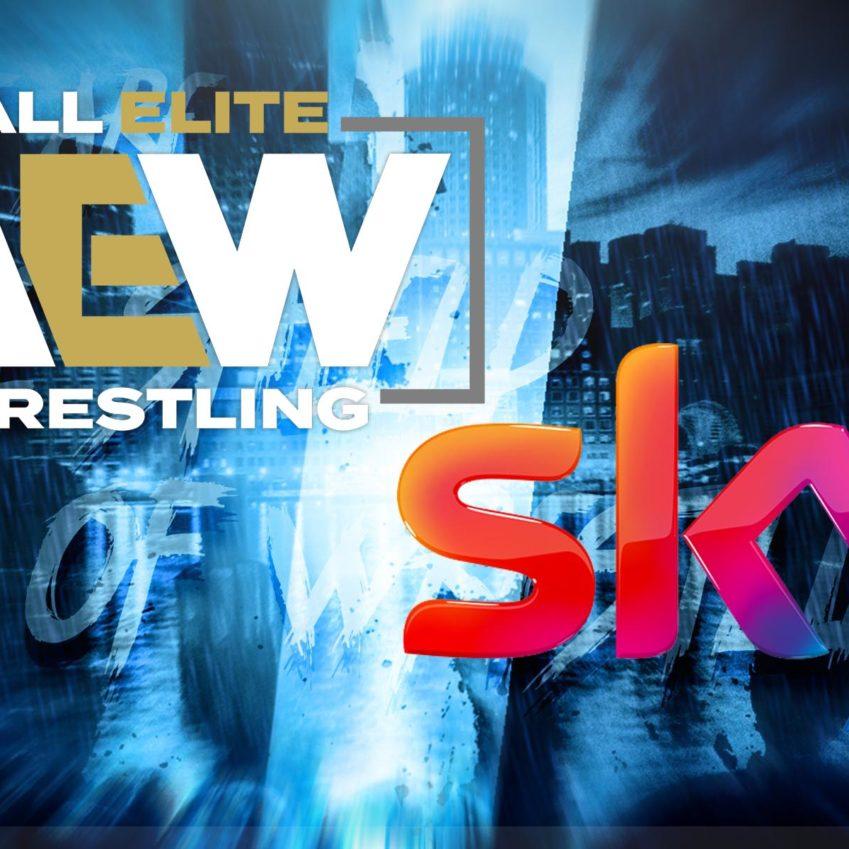AEW su SKY: si comincia il 7 agosto!