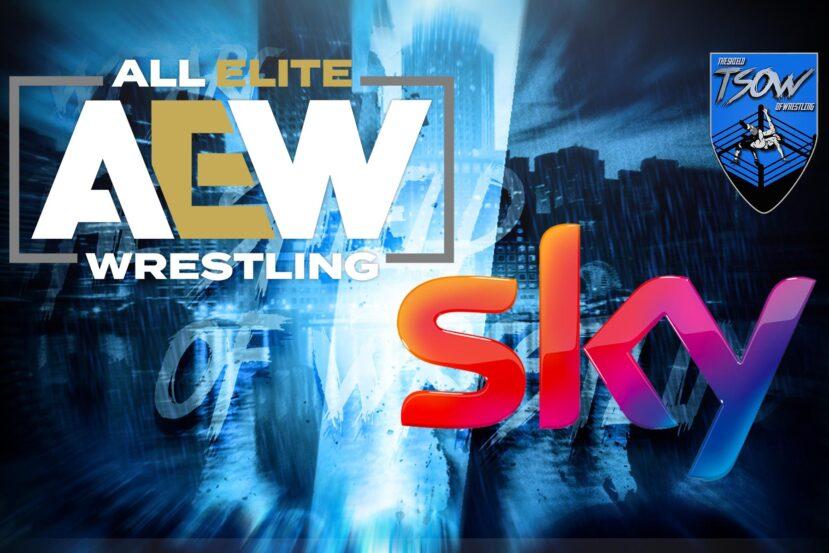 AEW Dynamite su SKY: la puntata slitta di un giorno