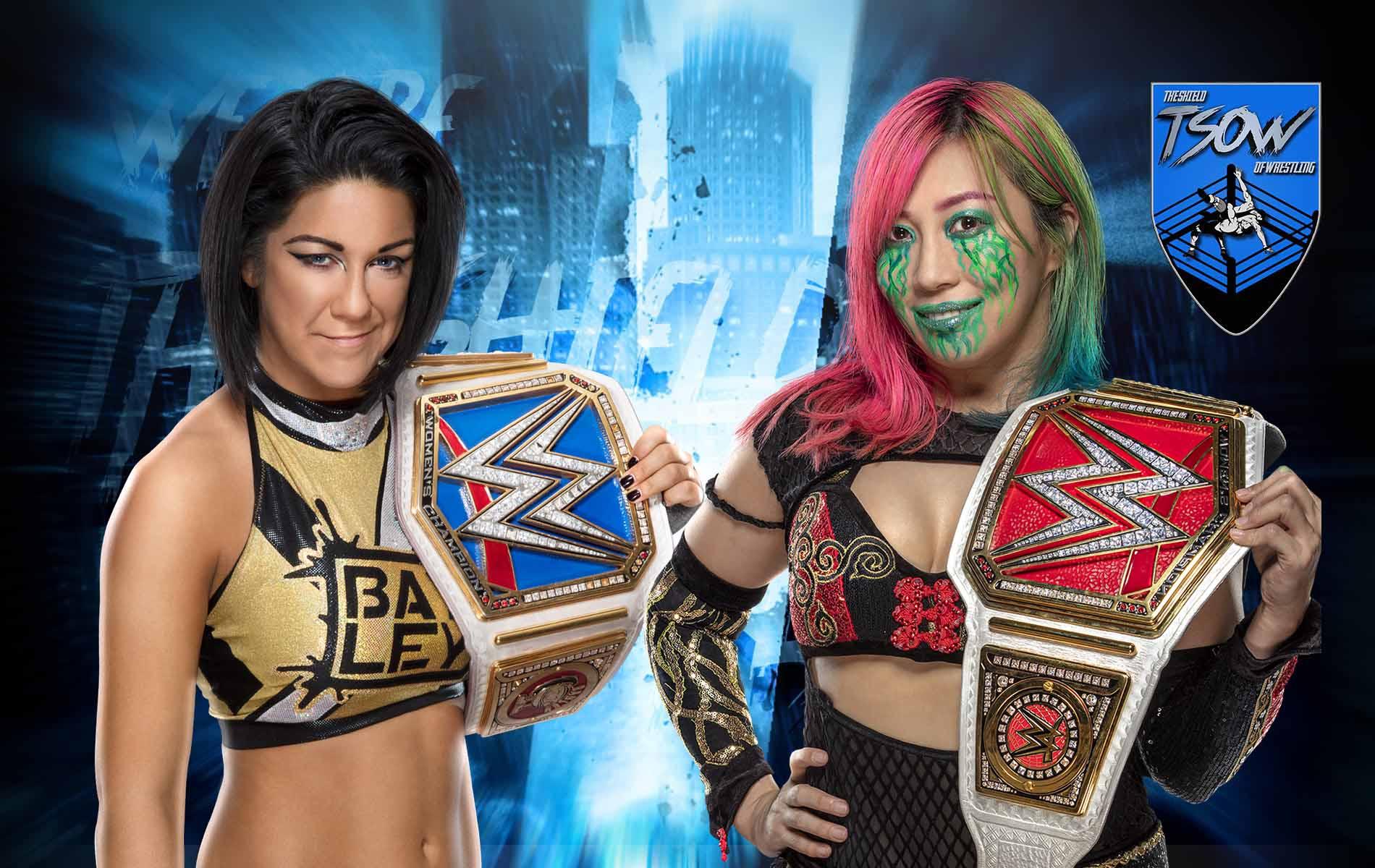 Asuka vs Bayley: come si è concluso il Champion vs Champion match