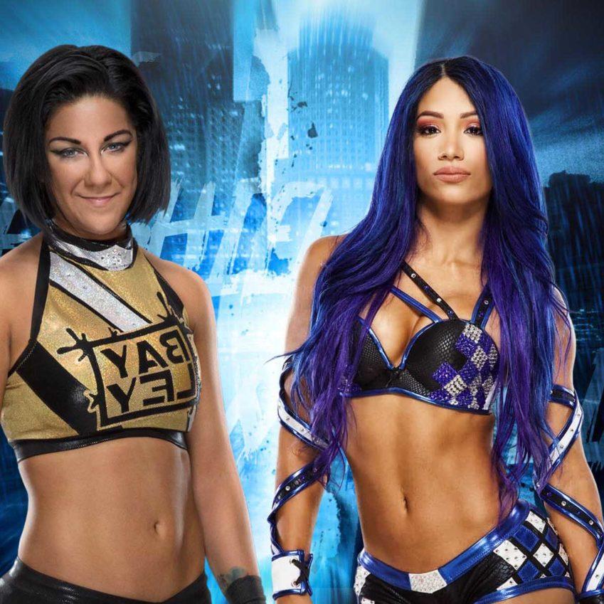 Bayley e Sasha Banks sfidano Lita e Trish Stratus per SummerSlam