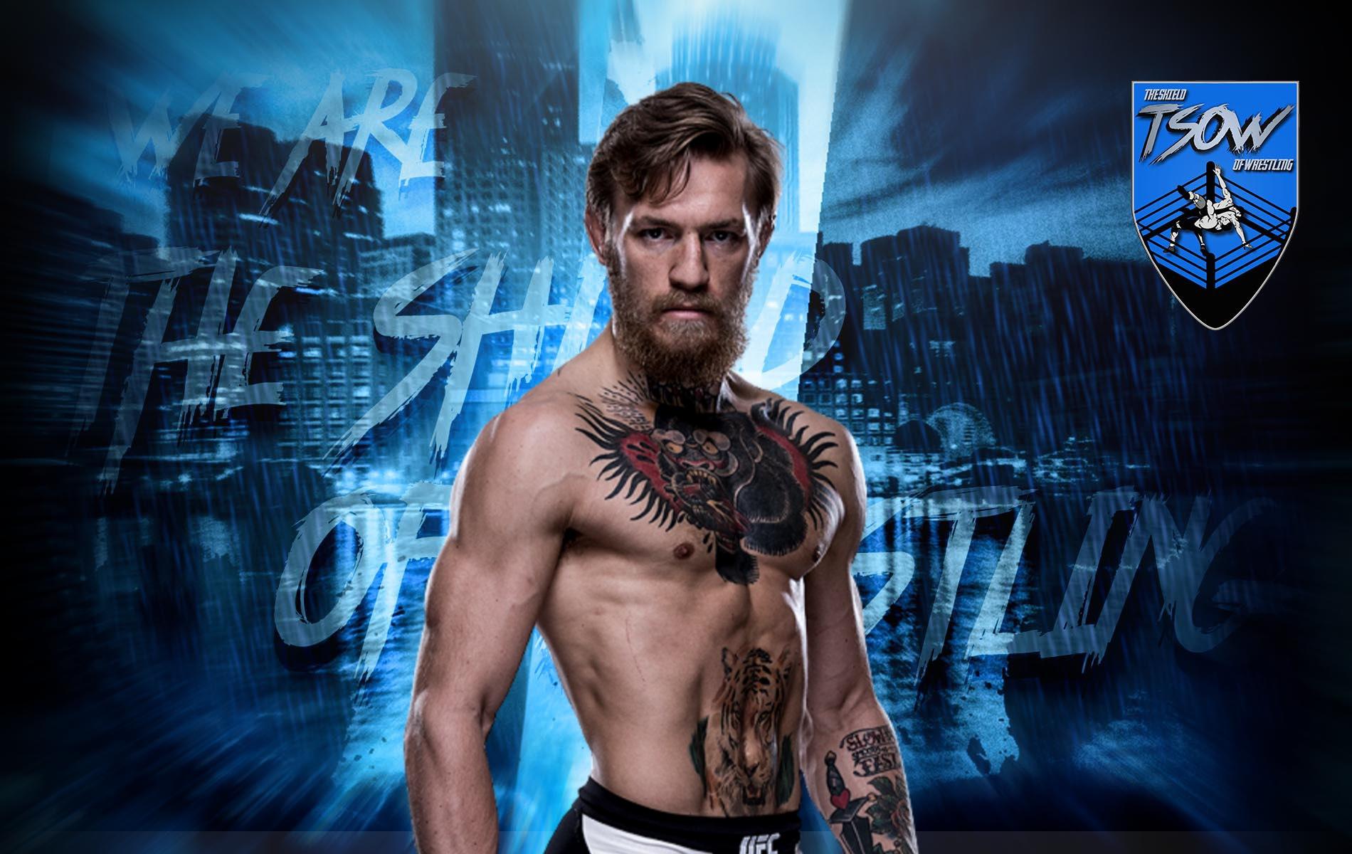 Conor McGregor in WWE: gli ultimi aggiornamenti
