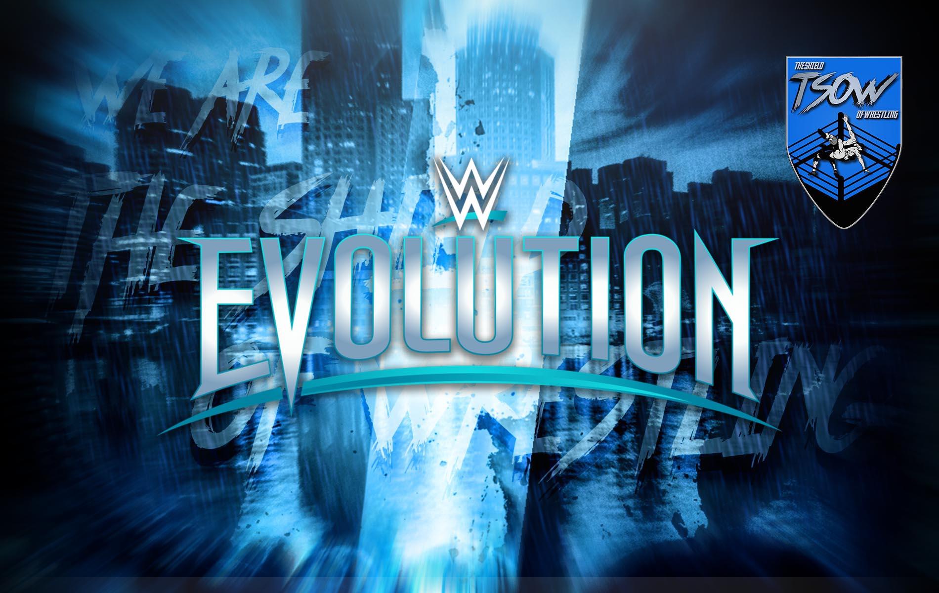 Toni Storm parla di un possibile ritorno di WWE Evolution