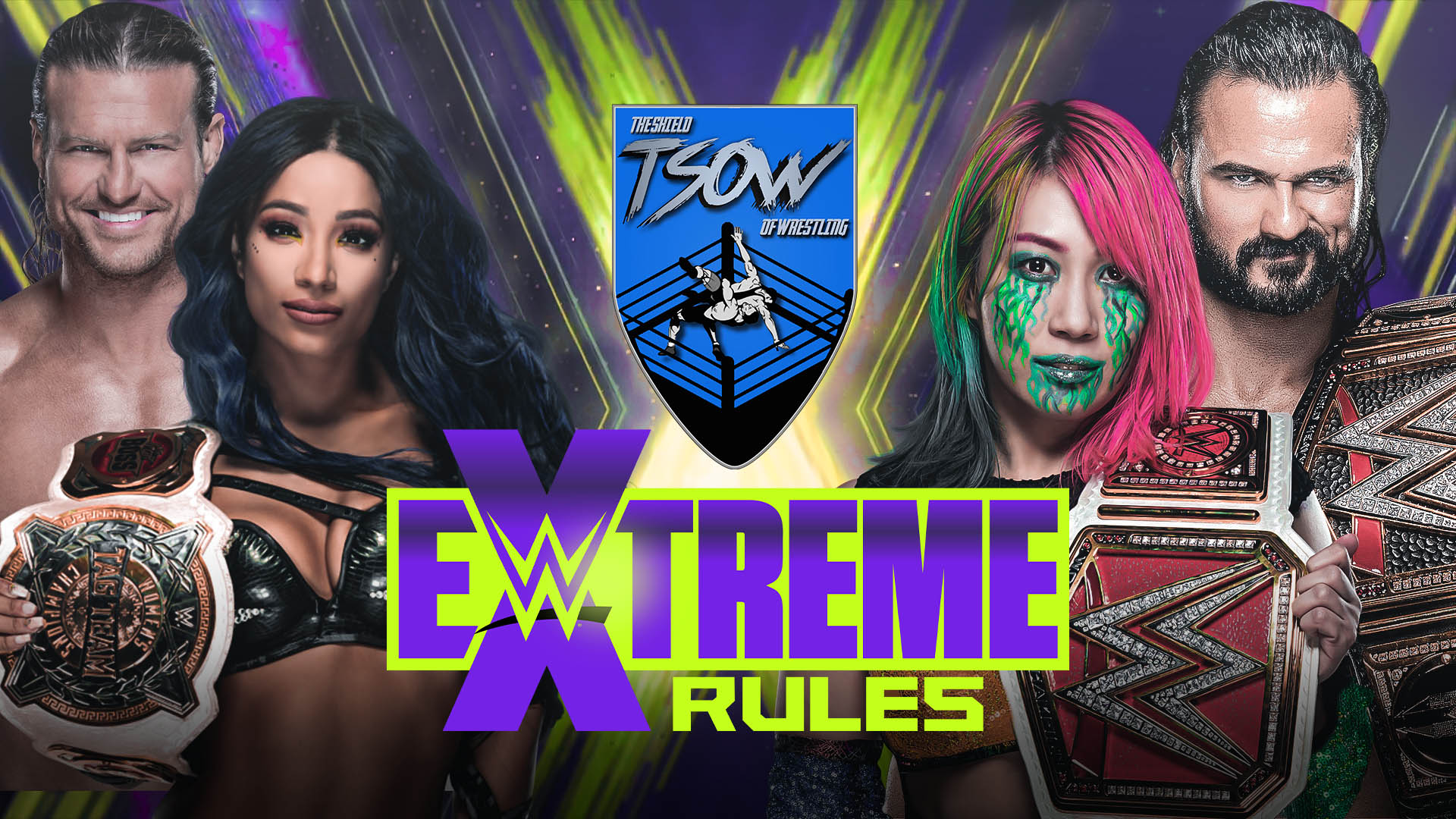 Report Extreme Rules - The Horror Show