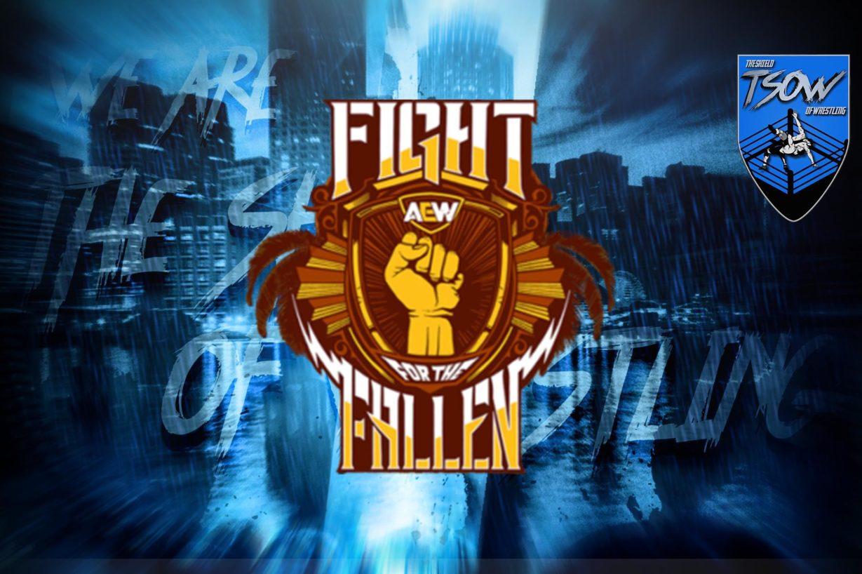 AEW Fight for the Fallen: la card attuale dell'evento