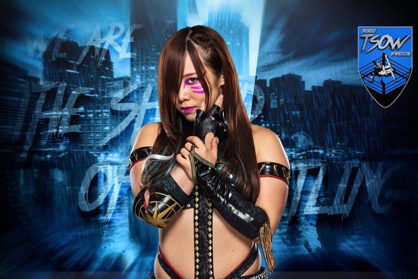 Kairi Sane: la WWE le vieta di combattere?