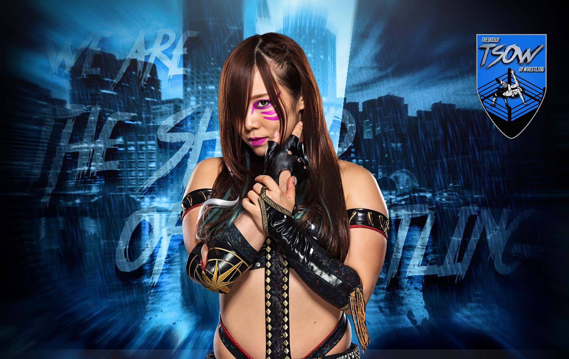 Kairi Sane rimossa dalla foto del match di RAW