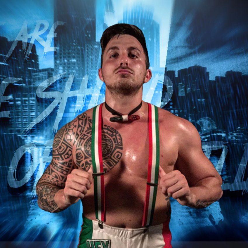 Mambo Italiano combatte nell'ultimo episodio di NXT