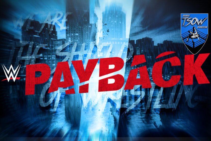 Payback 2020 programmato per la settimana dopo SummerSlam