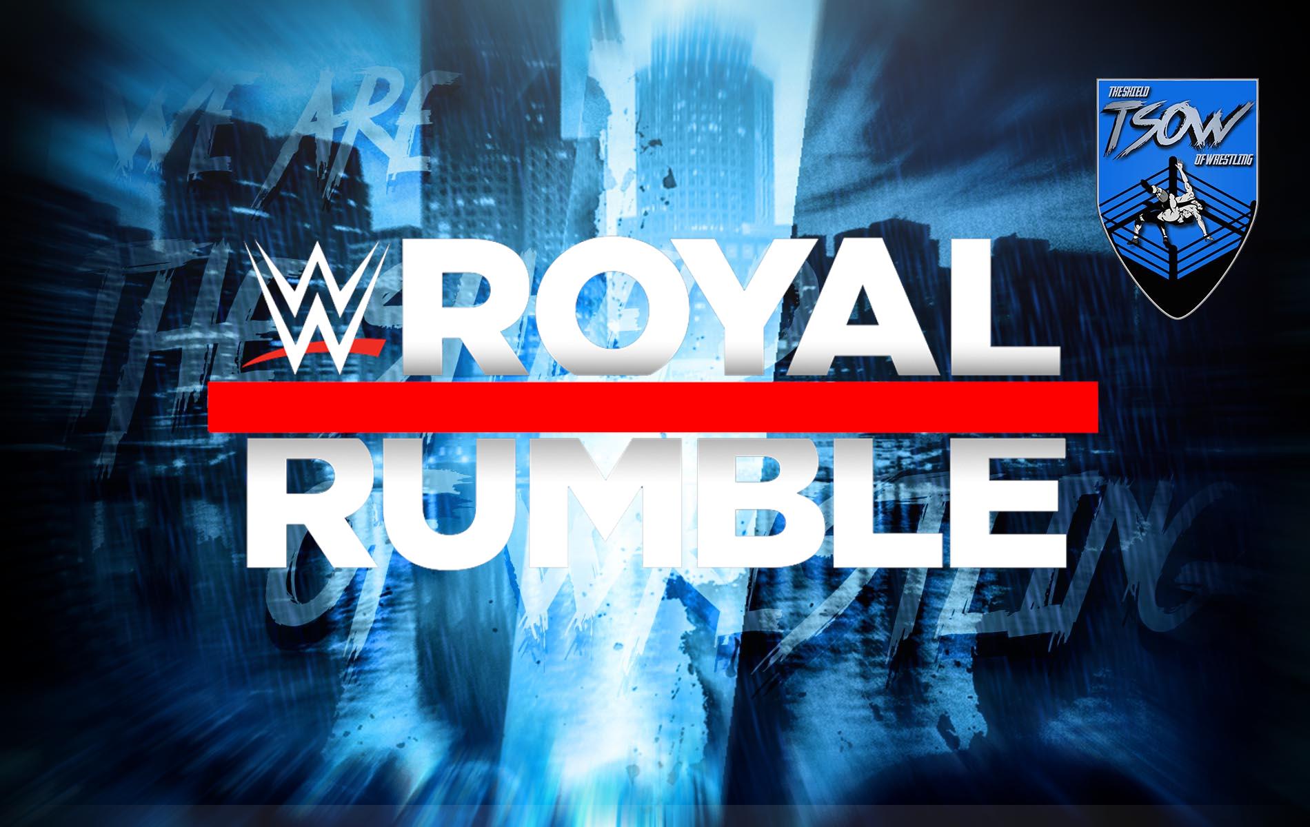 Royal Rumble 2021: pochissime speranze di avere i fan durante il PPV