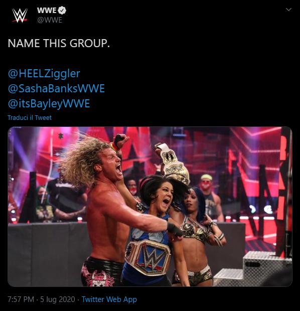 La WWE chiede ai fan di scegliere il nome di una nuova fazione