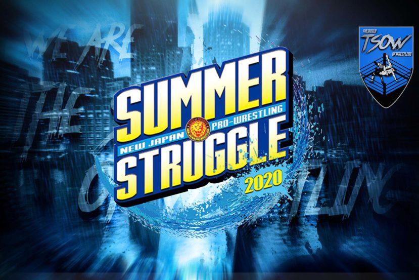 Risultati NJPW Summer Struggle - Day 2