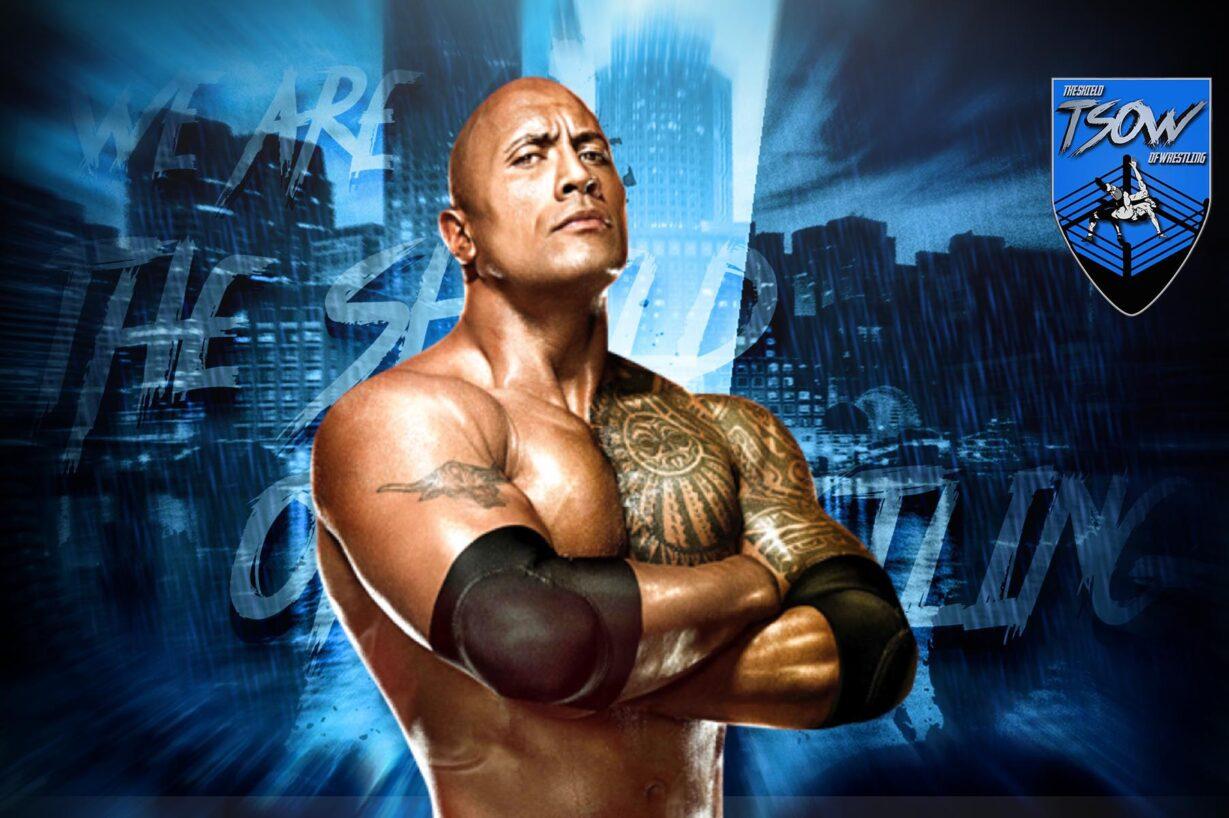 The Rock celebra la vittoria di Roman Reigns a Clash of Champions