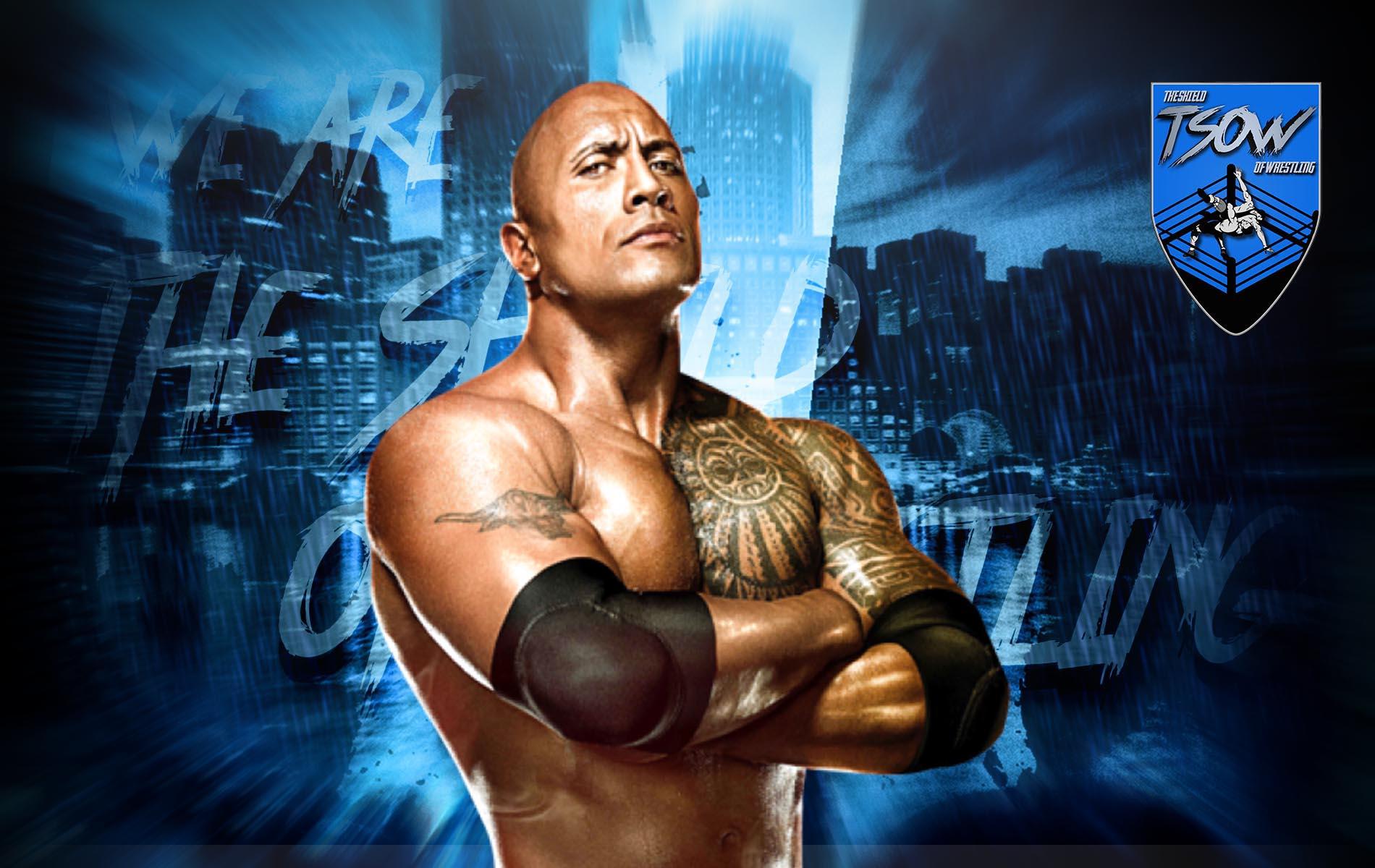 The Rock: ecco l'elogio di Kurt Angle