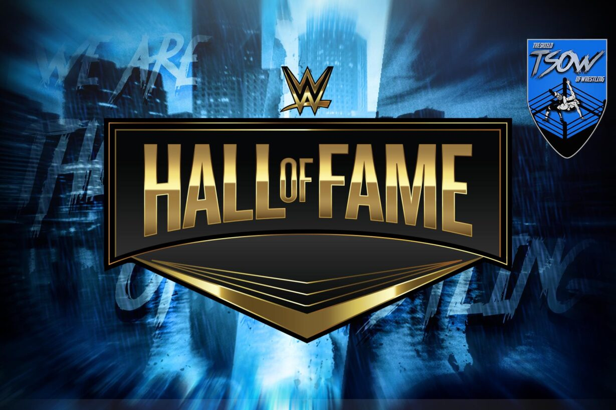 Hall of Fame 2021: la WWE sta registrando l'evento