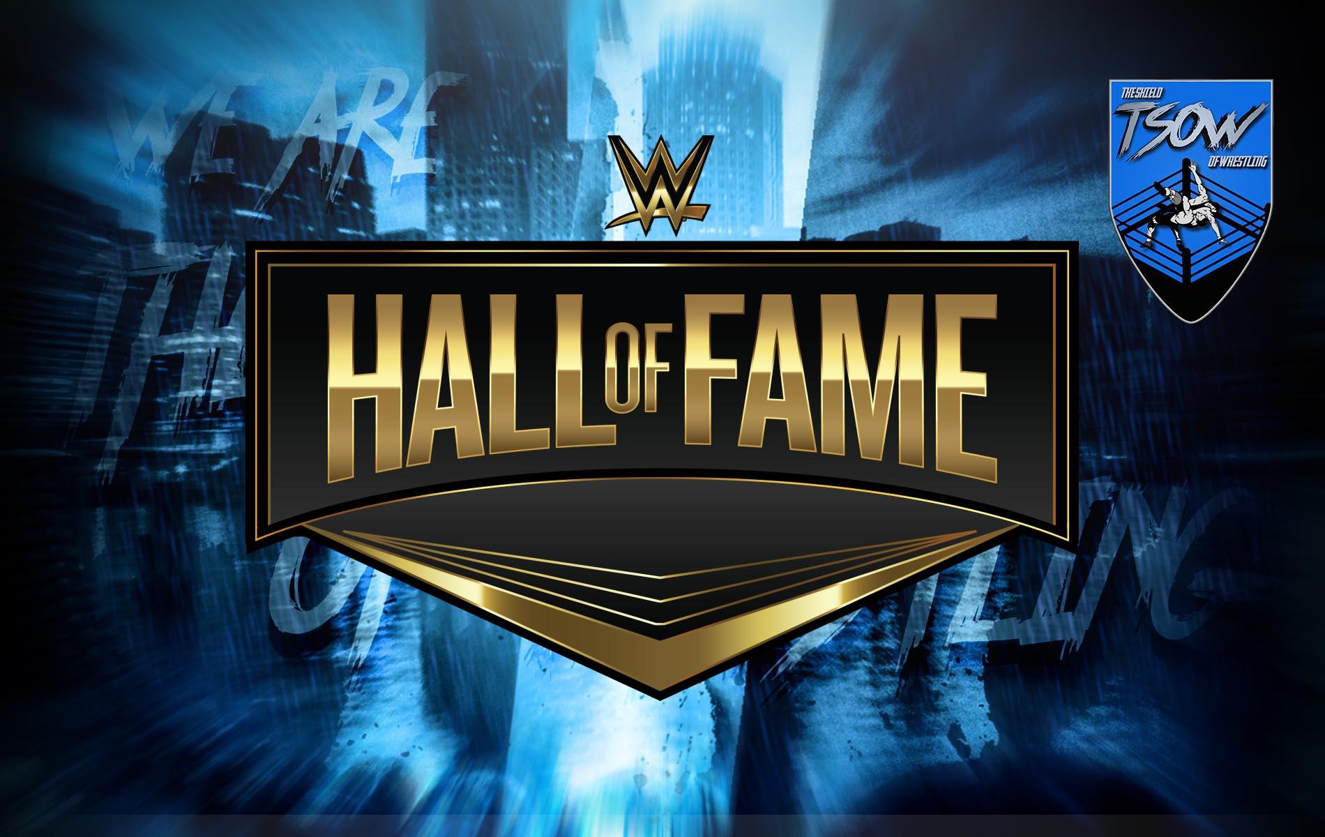 WWE Hall Of Fame 2021: ulteriori dettagli sulla cerimonia