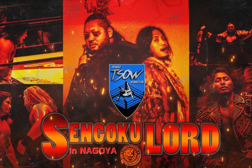 Risultati NJPW Sengoku Lord in Nagoya 2020