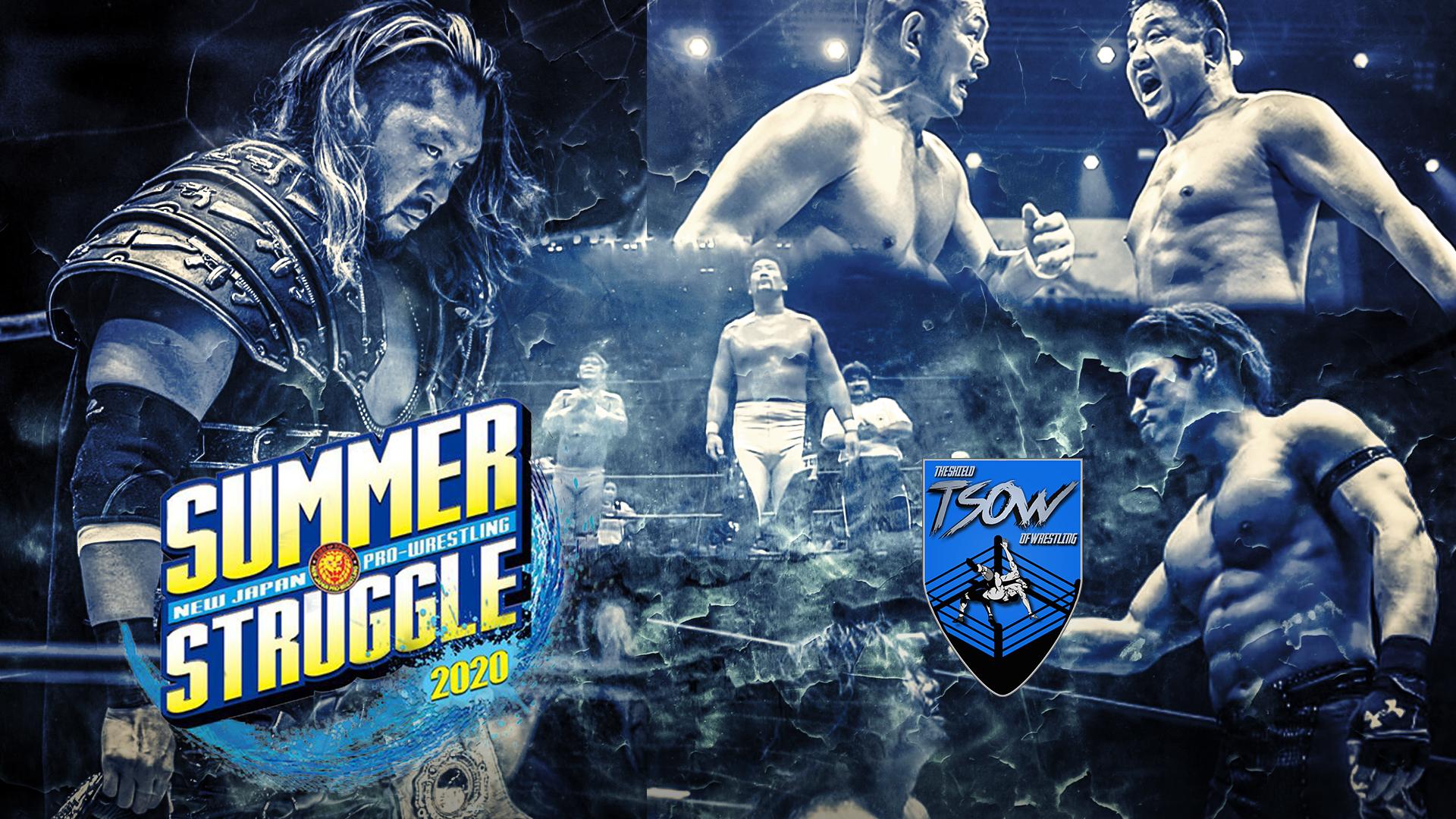 Risultati NJPW Summer Struggle 2020 - Day 4