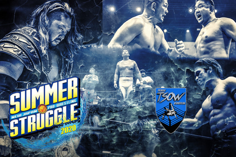 Risultati NJPW Summer Struggle – Day 3
