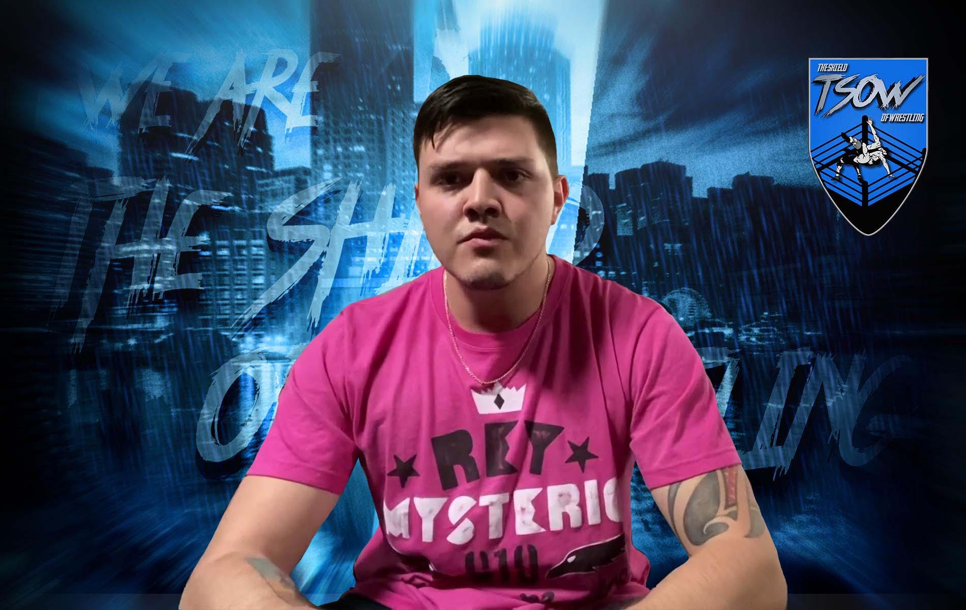Dominik Mysterio: le sue parole da nuovo Campione di Coppia