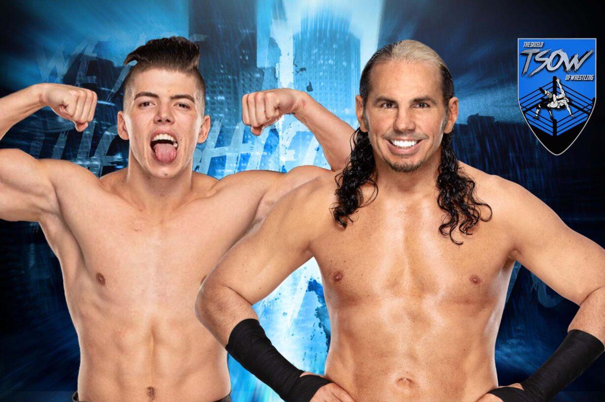 AEW Full Gear: come è finito il match tra Matt Hardy e Sammy Guevara?