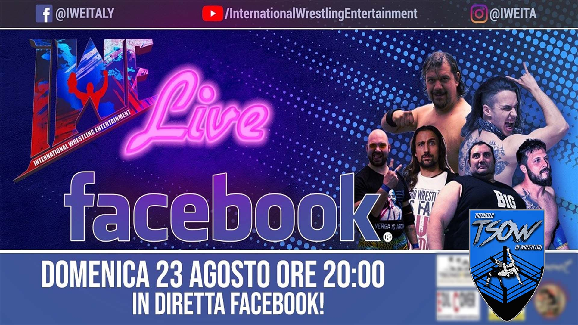IWE Live 23 agosto 2020 Review
